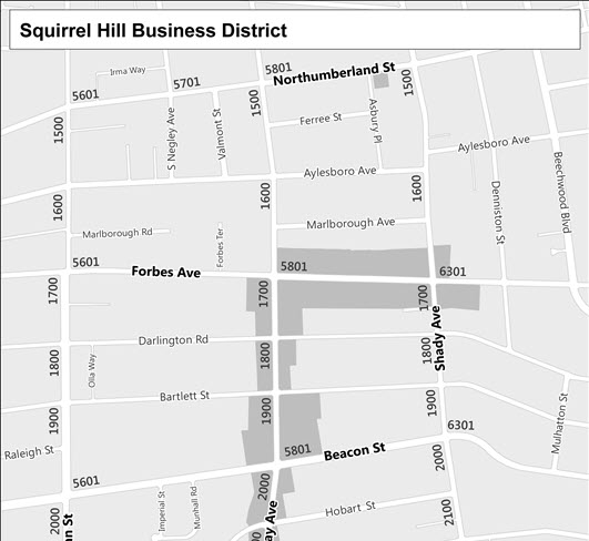 Squirrel Hill Business District