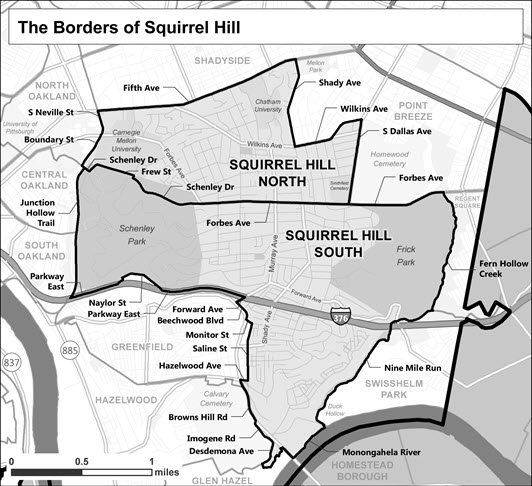 The Borders of Squirrel Hill